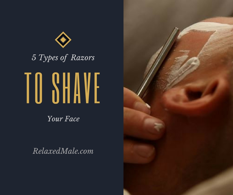 Thhere are 5 different ways a guy can shave his beard stubble