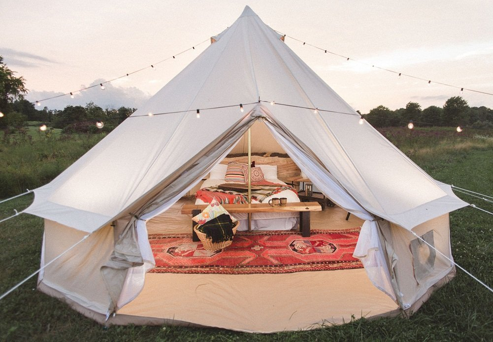 yurt The different types of camping