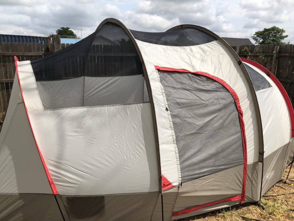 img 1148 1024x768 The Wenzel Blue Ridge 7 person Tent (Review)