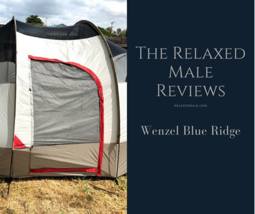 The 7 person tent Wenzel Blue Ridge