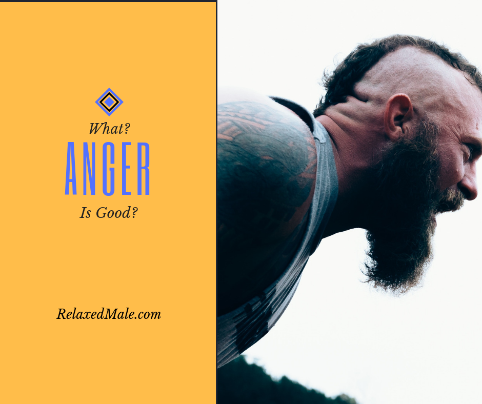 Can anger be good for you?