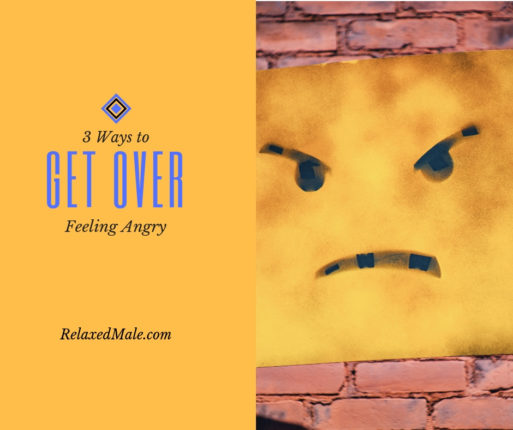 Video on 3 ways you can stop being angry